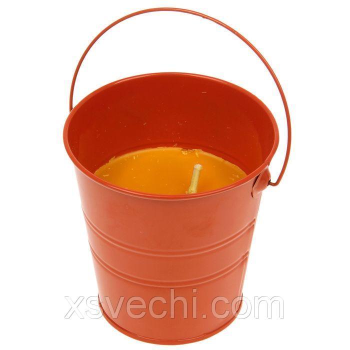 """Свеча для отпугивания насекомых """"Оранжевое ведёрко"""""""