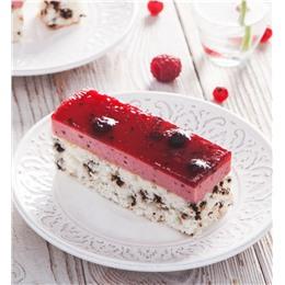 Легкий ягодный торт