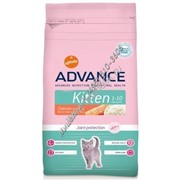 ADVANCE Cat KITTEN сух. 400 г для котят (1х8)
