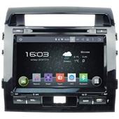 Штатная магнитола Incar AHR-2280 для Toyota LC 200  Android 4.4.4/1024*600,wi-fi