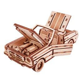 Wood Trick Механический 3D-пазл из дерева Wood Trick Кабриолет