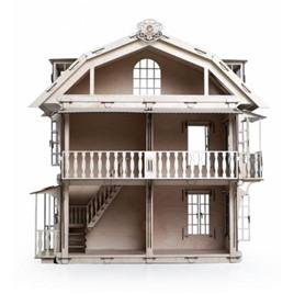 Lemmo Конструктор 3D деревянный Lemmo Большой дом для кукол