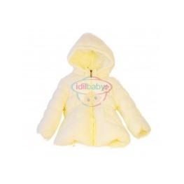 Куртка на молнии с капюшоном для девочки.