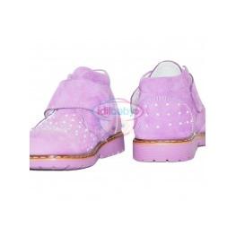 Ботинки Papsin сиреневые для девочки