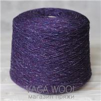 Пряжа Твид Soft Donegal Пурпурное сердце 5582, 190м в 50 г. Knoll Yarns, Purle Heart