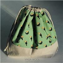 Проектная сумка (большая) Туканы
