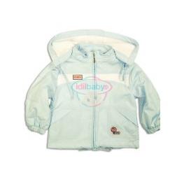 Куртка-ветровка на молнии с капюшоном для мальчика