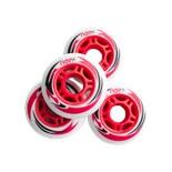 Комплект колес для роликов SW-601, PU, красный