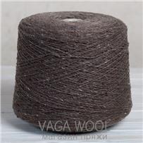 Пряжа Твид-мохер Грецкий орех 2703, 200м/50г Knoll Yarns, Mohair Tweed, Walnut