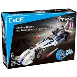 Cada Technics Конструктор Cada Technics, гоночная машина, 144 детали, инерционная модель - C52003W