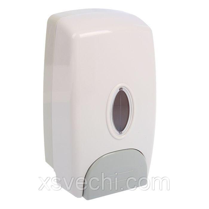 Диспенсер жидкого мыла механический 1000 мл, пластик