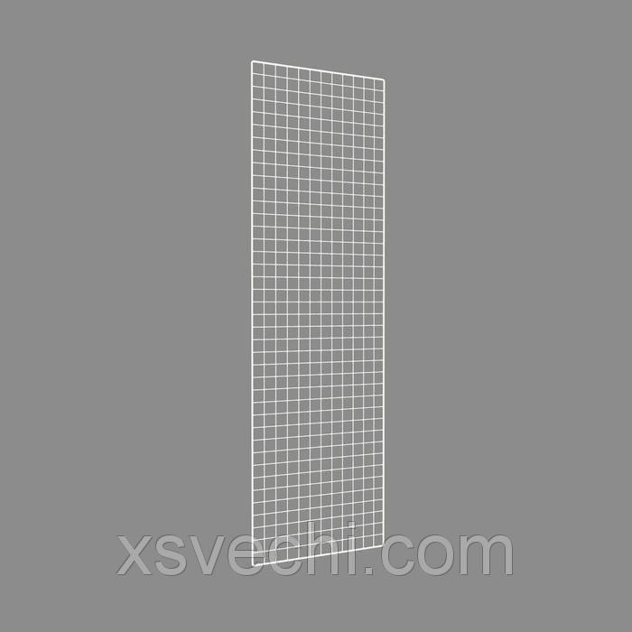 Сетка торговая, 2000*600мм, белый, окантовка - 8мм, пруток - 4мм