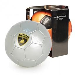 """Мяч футбольный, """"LAMBORGHINI"""" в коробке, серый"""