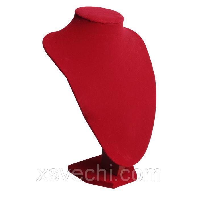 Бюст 25x19x11, цвет красный