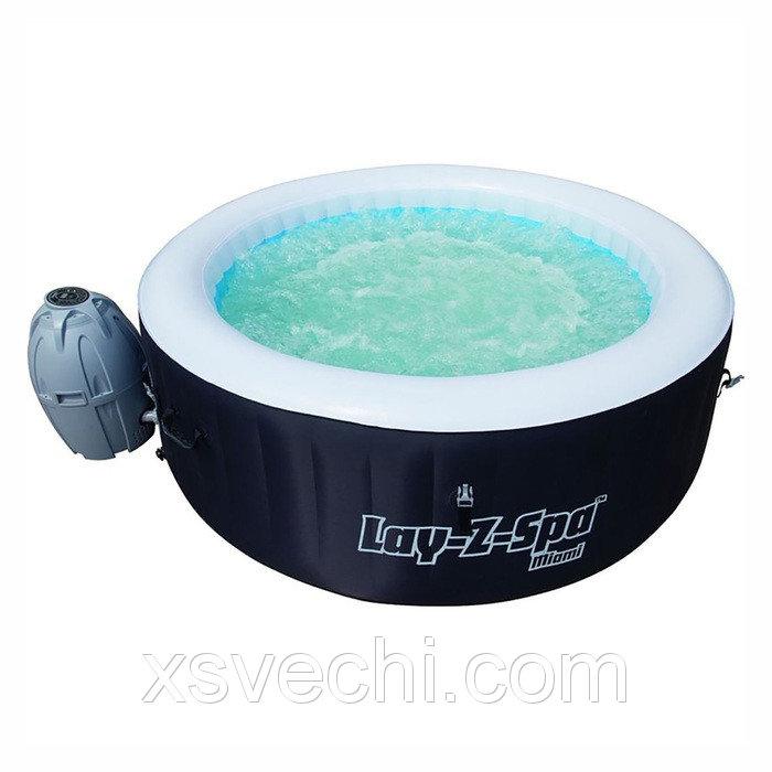 SPA бассейн Miami, 180 х 66 см, фильтр-насос, тент, дозатор для химии