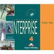 Enterprise 4. Class Audio CDs. (1 CD mp3). Intermediate. Аудио CD для работы в классе