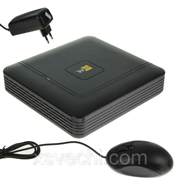 Видеорегистратор IP SVplus SVIP-N308, 8 каналов, запись до 1080 Р