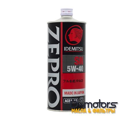 IDEMITSU ZEPRO RACING 5W-40 (1л.)