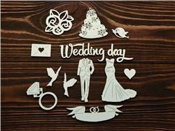 Набор Свадебный 4