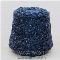 Пряжа Твид Soft Donegal Джинс 5215, 95м в 50 г. Knoll Yarns, Finn