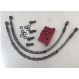 Комплект для установки радиатора - YX140 / LF120