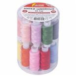 Набор швейных ниток 40 ЛШ Остров Сокровищ 24 цвета по 150 м 662788