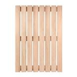 Решетка на пол для бани и сауны Банные Штучки ольха 70х100 см 33255