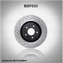 BDF033. Передняя ось. Перфорация + слоты