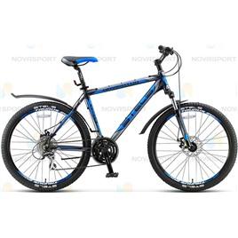 Велосипед Stels Navigator 650 MD 26 (2016) Темно-синий/Серебро/Синий , интернет-магазин Sportcoast.ru