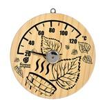 Термометр для бани и сауны Банные Штучки Листья 18041