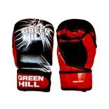 Перчатки для MMA-0067, к/з, черные/красные