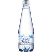 Упаковка минеральной газированной воды Baikal Reserve 0,33 в пластике - 12 шт.
