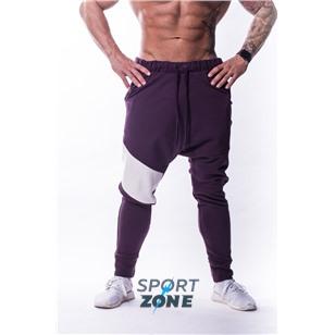 Ne Drop Crotch Pants729 цв.бургундия