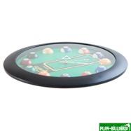 """Часы настенные """"12 шаров"""" D32 см (черные), пластик, интернет-магазин товаров для бильярда Play-billiard.ru. Фото 10"""
