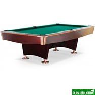 Weekend Бильярдный стол для пула «Reno» 8 ф (махагон), интернет-магазин товаров для бильярда Play-billiard.ru. Фото 1