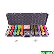 Набор для покера Compas на 500 фишек, интернет-магазин товаров для бильярда Play-billiard.ru. Фото 1