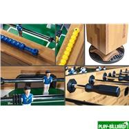 Настольный футбол «Champion Pro» (140х72х86, светлый), интернет-магазин товаров для бильярда Play-billiard.ru. Фото 5