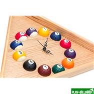 Longoni Часы треугольные с шарами, интернет-магазин товаров для бильярда Play-billiard.ru. Фото 3