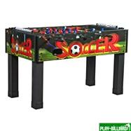 Настольный футбол (кикер) «Magic» (139х74х87, цветной), интернет-магазин товаров для бильярда Play-billiard.ru. Фото 1