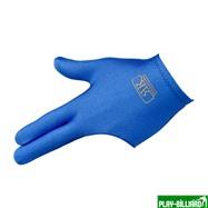 Longoni Перчатка бильярдная «Renzline Start Blue» (синяя), интернет-магазин товаров для бильярда Play-billiard.ru. Фото 1