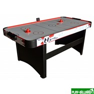 Weekend Аэрохоккей «Falcon» 6 ф (181 х 91 х 78 см, черный), интернет-магазин товаров для бильярда Play-billiard.ru. Фото 2