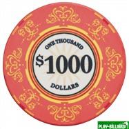 Набор для покера Luxury Ceramic на 500 фишек, интернет-магазин товаров для бильярда Play-billiard.ru. Фото 2