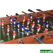 Настольный футбол (кикер) «Standart» (122x61x78.7 см, коричневый), интернет-магазин товаров для бильярда Play-billiard.ru. Фото 4