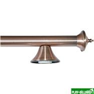 Weekend Лампа на пять плафонов «Elegance» (бронзовая штанга, бронзовый плафон D35см), интернет-магазин товаров для бильярда Play-billiard.ru. Фото 3