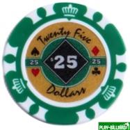 Набор для покера Crown на 500 фишек, интернет-магазин товаров для бильярда Play-billiard.ru. Фото 3