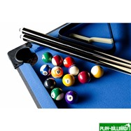 Weekend Складной бильярдный стол для пула «Team I» 5 ф (черный) ЛДСП, интернет-магазин товаров для бильярда Play-billiard.ru. Фото 3