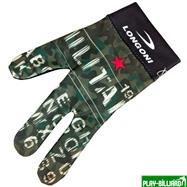 Longoni Перчатка бильярдная «Longoni Fancy Military 2», интернет-магазин товаров для бильярда Play-billiard.ru. Фото 1