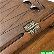 """Нарды резные """"Всадник"""" с ручкой, Haleyan, интернет-магазин товаров для бильярда Play-billiard.ru. Фото 5"""