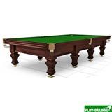 Weekend Бильярдный стол для русского бильярда «Hardy» 12 ф (черный орех), интернет-магазин товаров для бильярда Play-billiard.ru