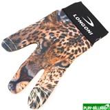 Longoni Перчатка бильярдная «Longoni Fancy Leopard», интернет-магазин товаров для бильярда Play-billiard.ru